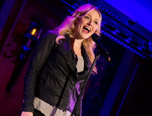 Betsy Wolfe performs <i>I Can Do Better Than That</i> from <i>The Last Five Years</i>.<br />(© David Gordon)
