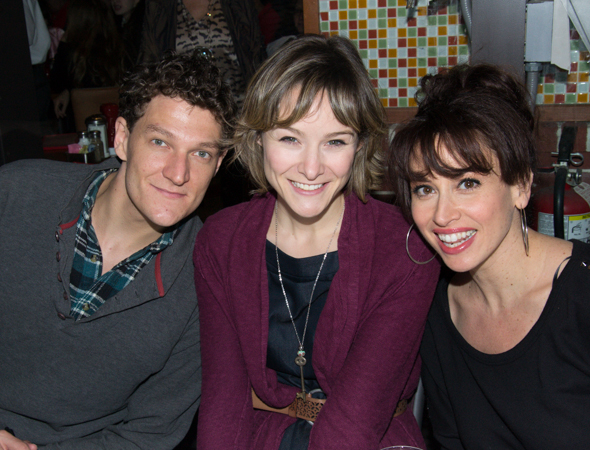 Gabe Ebert, Jill Paice, and Lesli Margherita represent <i>Matilda</i>.<br />(© David Gordon)