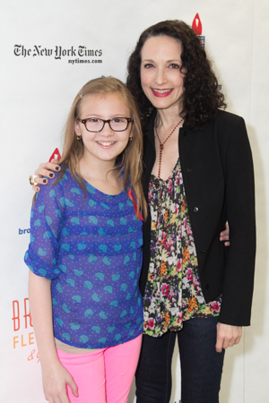 Bebe Wood of <i>The New Normal</i> poses with her name-pal, Bebe Neuwirth (<i>Chicago</i>).<br />(© Seth Walters)