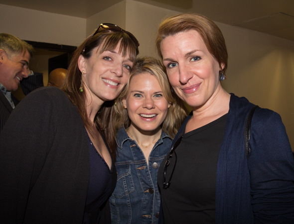 Julia Murney (<i>The Landing</i>), Celia Keenan-Bolger (<i>The Glass Menagerie</i>), and Susan Blackwell (<i>Volleygirls</i>).<br />(© Seth Walters)