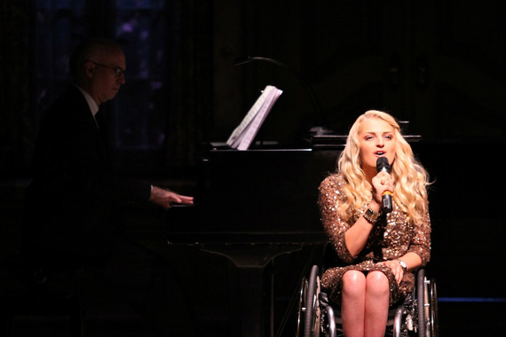 Ali Stroker at last year's Born for Broadway gala.