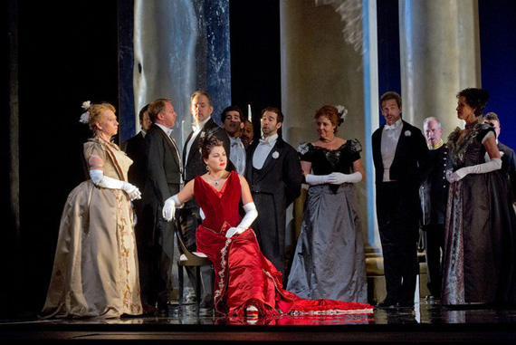 Anna Netrebko in <I>Eugene Onegin</I>.