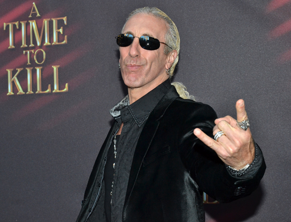 """Rock on, Broadway!"" says Twisted Sister front man Dee Snider.<br />(© David Gordon)"