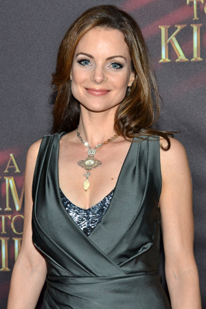Kimberly Williams-Paisley is excited to support her sister Ashley Williams' Broadway debut.<br />(© David Gordon)