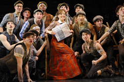 "The cast of <i>Newsies</i> performs ""King of New York"""