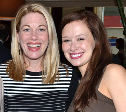 Marin Mazzie and Molly Ranson