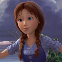 An image of Dorothy from the forthcoming movie <i>Dorothy of Oz</i>